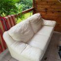 Skórzana kanapa do sprzedania